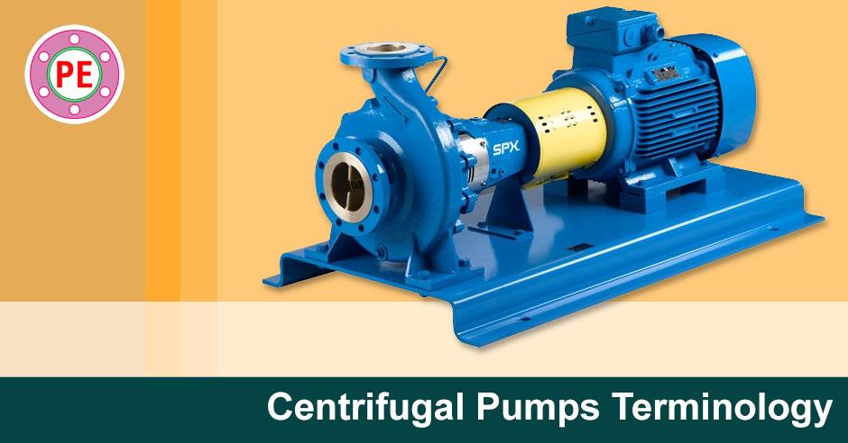 Centrifugal Pumps Terminology