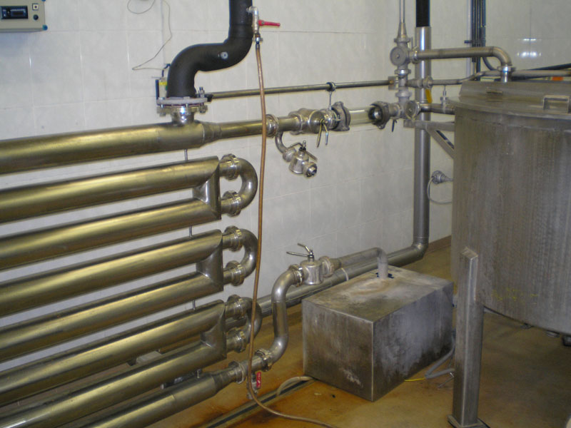 Double Pipe Heat Exchanger Piping