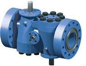 Flowserve Nordstrom Double Isolation Steel Plug Valve