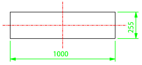 Lateral Stub In Template Calculation Step 1