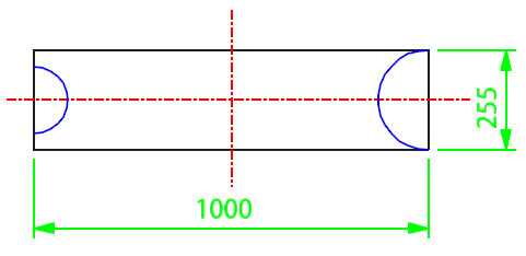 Lateral Stub In Template Calculation Step 2