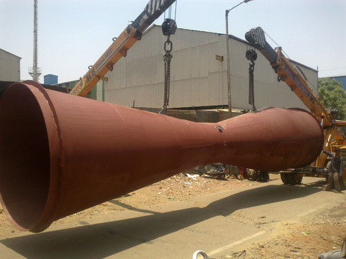 Lifting of Giant Venturi Flow Meter