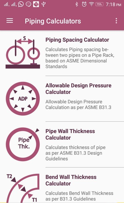 Piping Engineering App » The Piping Engineering World