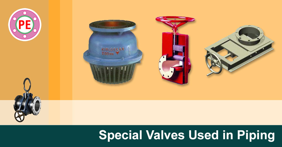 Special Piping Valves