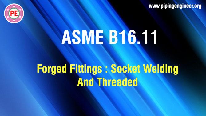 ASME B16.11