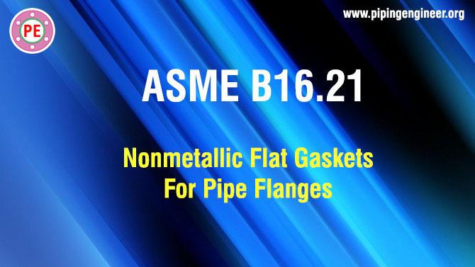 ASME B16.21