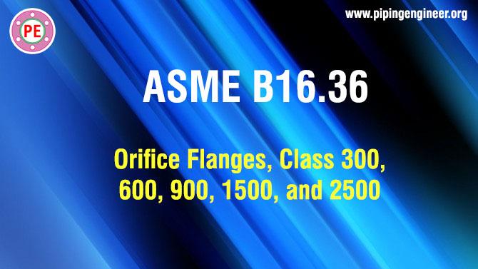 ASME B16.36