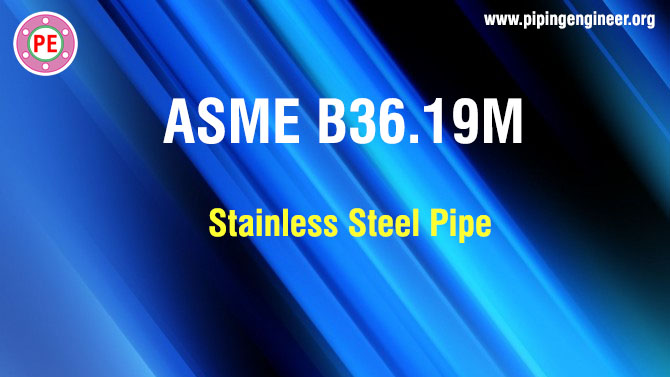 ASME B36.19M