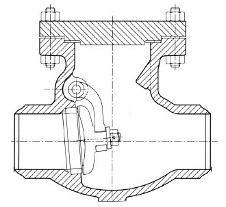Butt Welding Swing Check Valve