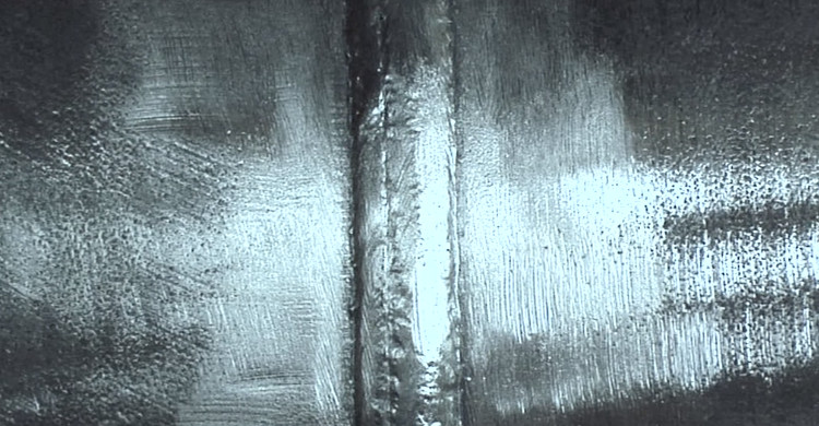Weld after cleaning.